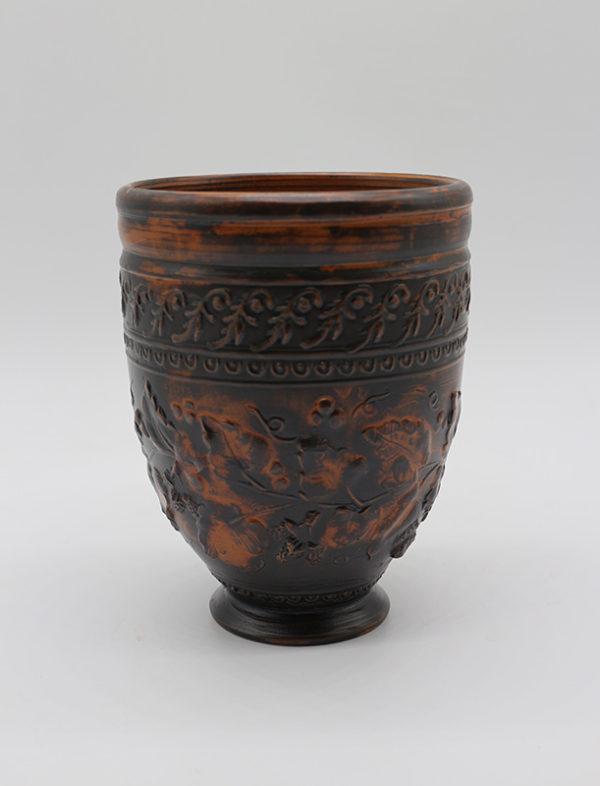 Colección efímera bicolor vaso guirnalda