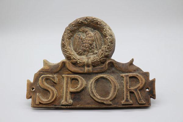 Otras cerámicas SPQR